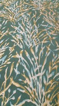Donghia Nemo Botanical Seaweed Green Upholstery Fabric 10080-40 2.5 yds PZ6 - $83.13