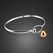 New Arrival Bracelets & Bangles Stretch Bracelet Lady Gift Jewelry Solid 925 Ste - $34.19