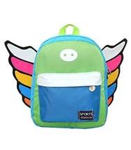 Korean Fashion Infant Knapsack Toddle Backpack Kindergarten School Bag Blue