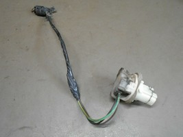 97 Ford F250 LH Rectangle Style Taillight Back Up Light Socket Pigtail Wires - $9.99