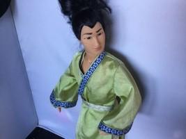 Disney Mattel Mulan Li Shang Boy Doll W/ Outfit Ken Size J - $9.89