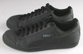 PUMA Men's Smash Knit C Black Casual Athletic Sneakers Gym Shoes image 2