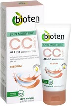 Bioten CC Cream Skin Moisturie Medium Natural Quince Extract SPF 20 50ml - $9.07