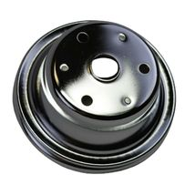 Crankshaft Pulley Single-Groove LWP Long Water Pump For Chevy SBC 262 307 400 image 7