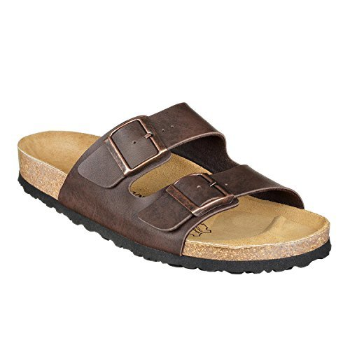 JOE N JOYCE London - Cork Sandals, Slippers - SynSoft Brown Size 38 Normal
