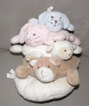Pottery Barn Kids Plush Critter Animal Ring Stacker Stacking Baby Toy Pa... - $34.64