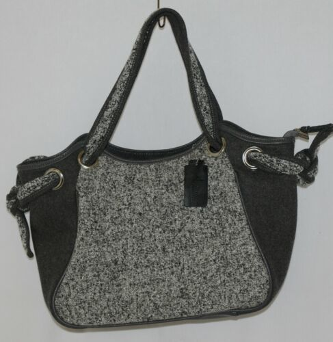 Howards Arianna Collection Product Number 67875 Large Tweed Grey Purse