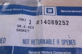 GM OEM-Valve Cover Gasket 14089252 - $7.00