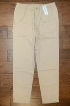Lacoste Men's Krema Cotton/Linen Casual Pants W34 EU 44 - $44.54
