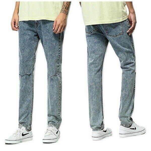 Levi Men 510 Skinny Fit Stretch Jean Size W32 x L32 Ripped Distressed RRP $69.50