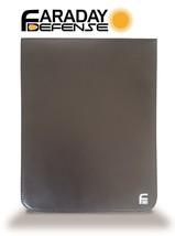 Tablet XL 7.5x10 Black PU Leather Shielding GPS WiFi EMP Signal Blocking... - $26.17
