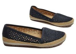 Rackley Perforated Slip-On Sneaker Naturalizer N5 Comfort Black Women 8M - $39.94 CAD