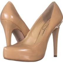 Jessica Simspon Parisah Hidden Platform Heels 665, Sand Dune, 8 US - $26.77