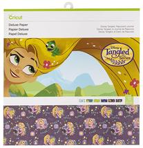 Cricut Disney Tangled, Rapunzel's Journal, Paper, 12 Sheets Total. 2 Each Design - $14.95