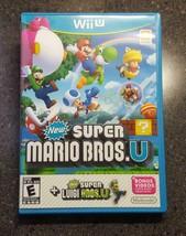 Super Mario Bros. U & Super Luigi U (Nintendo Wii U, 2015) Game & Case - $27.00