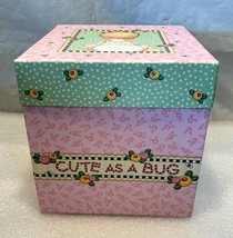 "Mary Engelbreit..Treasure Gift Box...""Cute As A Bug""  6"" X 6"" X 6"" Tall - $9.89"