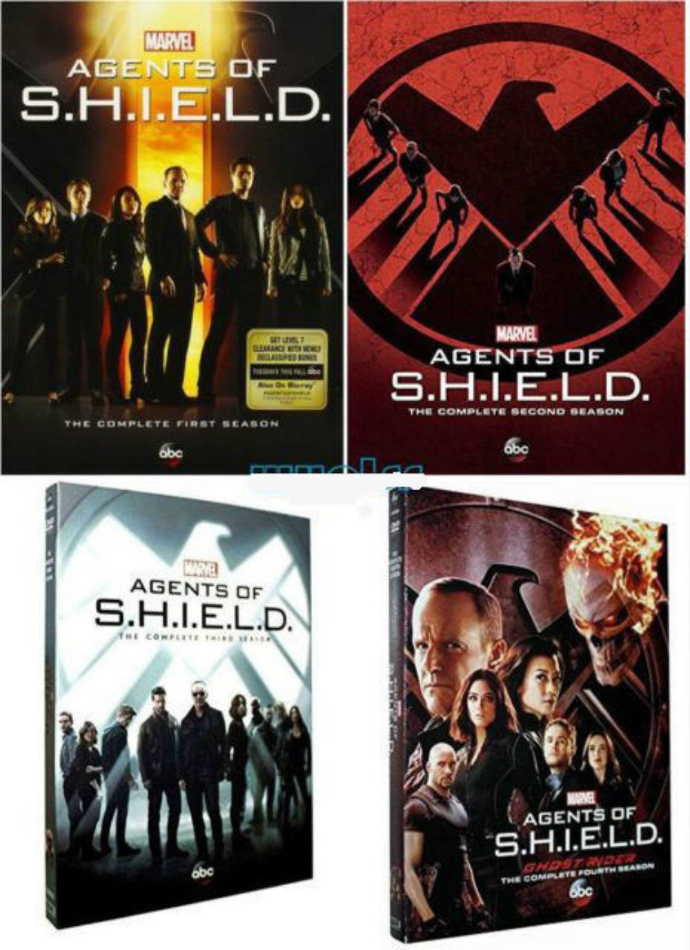 Primary image for Marvel Agents of S.H.I.E.L.D  Complete TV Series Seasons 1 2 3 4 DVD Sets [New]