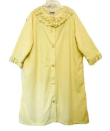 Lounge Craft Original Womens Vintage 1960's Yellow Lace & Satin Housecoa... - $69.95