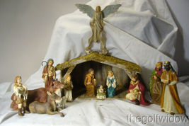 Bethany Lowe Nativity and Creche and Manger image 6