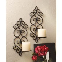 Scrollwork Wall Sconces - $37.00
