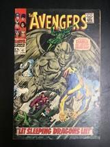 The Avengers #41 Let Sleeping Dragons Lie! Marvel 1967 Comic - $24.49