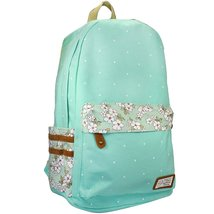 Samaz Causal Lightweight Canvas Laptop Bag/Cute backpacks - $21.99