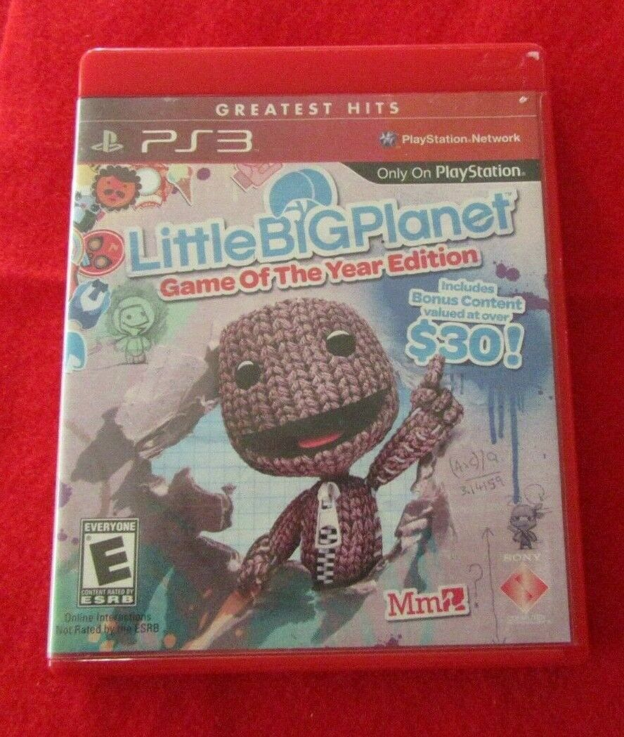 Primary image for LittleBigPlanet -- Game of the Year Edition (PlayStation 3, 2009) Greatest Hits