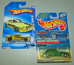 Lot of 2 Mattel Hot Wheels Cars - 1967 Shelby GT-500 & 1936 Cord - NIP - $14.46