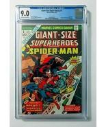 1974 Marvel Comics Giant-Size Super-Heroes 1 CGC 9.0:Spider-Man,Morbius,... - $197.99