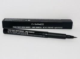 Mac Penultimate Brow Marker Pen Liner Soucils New In Box - $15.98