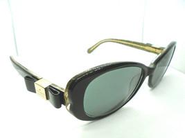 Kate Spade Rx Sunglass/Eyeglass Frames Chandra/S X84 Black/Gold Glitter ... - $39.49