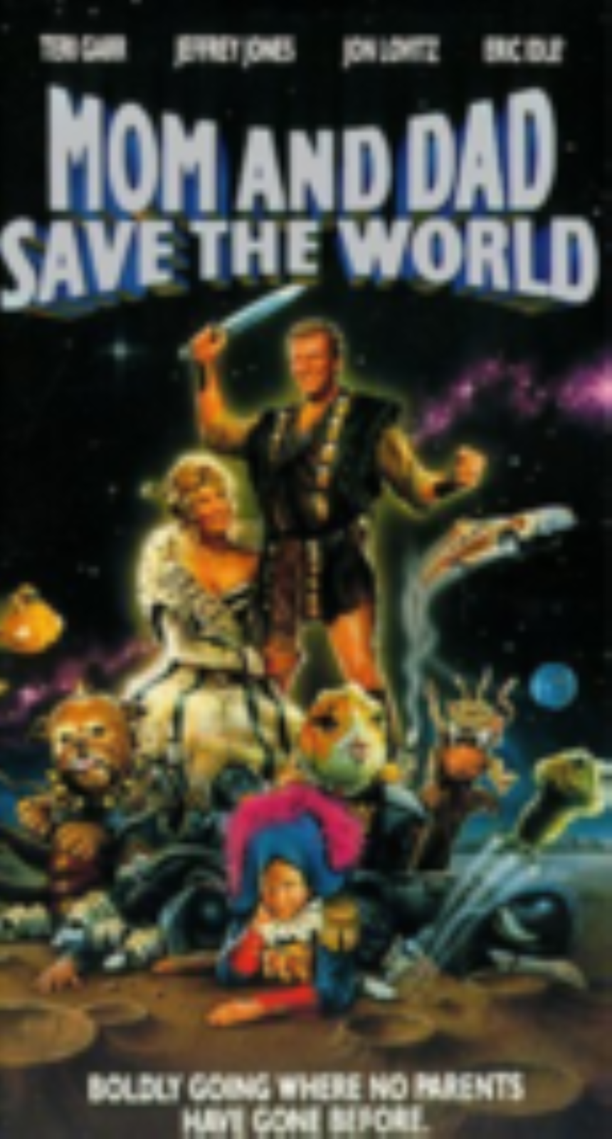 Mom & Dad Save the World Vhs