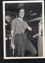 Woman Archer Bow & Arrow Photograph Black & White 1950s  5x7 - $7.01