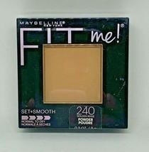 Maybelline New York Fit Me Set + Smooth Powder 240 Golden Beige - $9.89