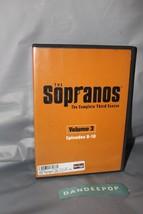 The Sopranos Third Season DVD, 2002, Only Episodes 8-10 Volume 3 - $5.93