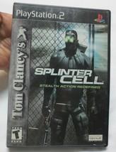 Tom Clancy's Splinter Cell (Sony PlayStation 2, 2002) -  - $5.00