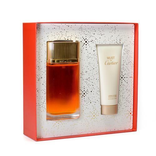 Cartier must de cartier perfume set