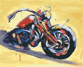 """Motobike 16X20"""" Paint By Number Kit DIY Acrylic Painting on Canvas Unframed - $8.99"""