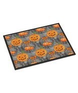 Caroline's Treasures Watercolor Halloween Pumpkins Indoor Or Outdoor Doo... - £30.79 GBP