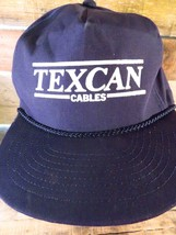 TEXCAN Cables Vintage Snapback Adjustable Adult Hat Cap  - $29.69