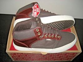 Vans Skate Bedford + Leather Canvas Henna 2 Tone Brown Skate shoes Size ... - $54.39
