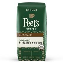 Peet's Coffee Organic Alma De La Tierra, Dark Roast Ground Coffee, 10.5 oz Bag - $15.74