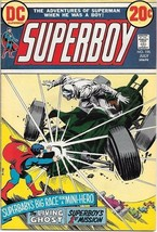 Superboy Comic Book #196 DC Comics 1973 FINE+ - $11.64