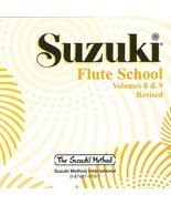 Suzuki Flute School Volumes 8 & 9 [Audio CD] Alfred Music - $10.77