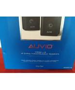 """AUVIO 4"""" PAIR 3-WAY INDOOR OUTDOOR SPEAKERS4000016 100W X 2 - $50.00"""