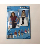 Simplicity 3538 Size 12-20 Misses' Jacket in Two Lengths - $11.64