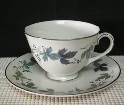 BURGUNDY TC1001 by  Royal Doulton TEA CUP & SAUCER (s) Bone China EUC - $9.06