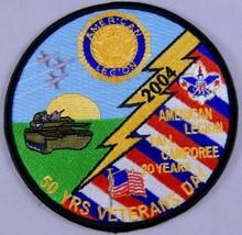 Boy Scouts American Legion 50th Veterans Day Camporee 2004 BSA Chautauqua County - $9.79