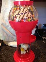 Vintage Peanuts Snoopy Goodie Buddie Snack Treat Candy Dispenser Excelle... - $34.99