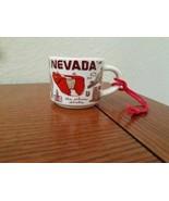 Starbucks 2oz NEVADA Demi Tasse BEEN THERE mug Ornament Cup Mini Mug NIB - $15.99